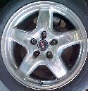 00-02 WS6 wheels polished